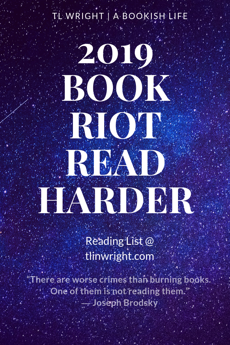 2019 Book Riot Read Harder Reading List