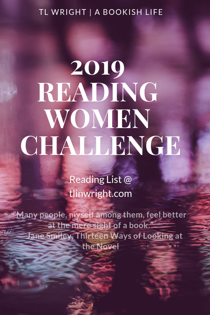 2019 Reading Women Challenge Reading List @ TL Wright | A Bookish Life